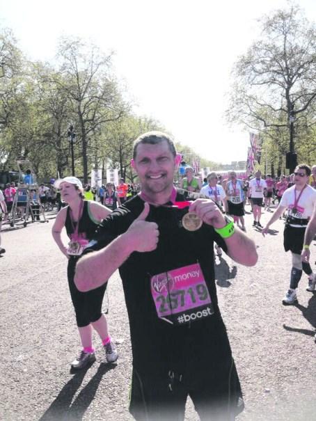 sport barrie mdermott london marathon