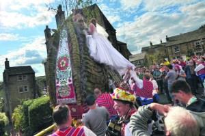 Tim Simpson photography  Rushcart 'bride' (1)