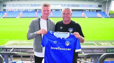 Latics sign Sam Surridge
