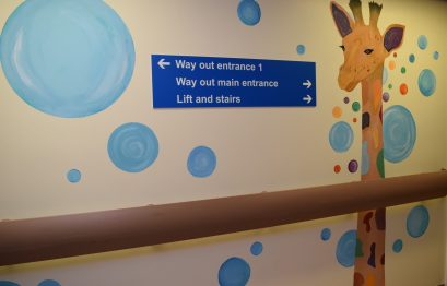 Artwork at entrance to ROH Childrens Ward_2