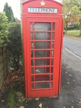 Carr Lane phone box
