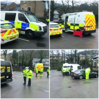 Successful crackdown on Saddleworth roads for police safety scheme