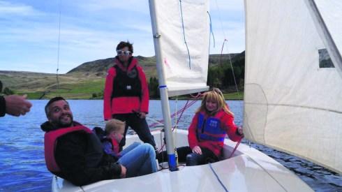 Dovestone sailers