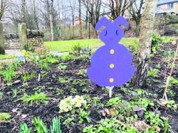 Easter decorations in Dobcross (1)