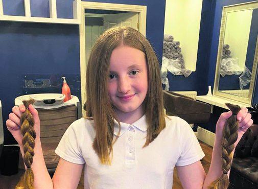 Evie haircut1