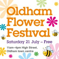 Blooming Flower Festival returns to Oldham Town Centre