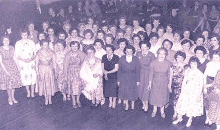 Front of House Volunteers at The Rep Ball, 1960