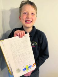 George with poem