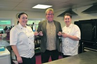 Manns Wharf caterers turns to 'meals on wheels'