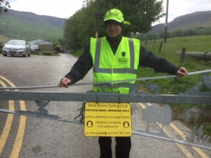 One of the new Dovestone Marshals in action