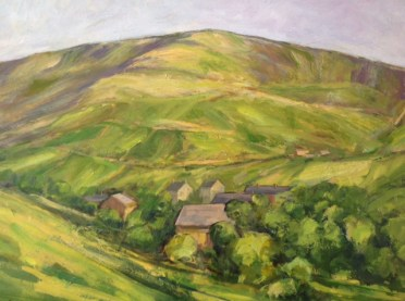 Saddleworth Hillside by Sheila Dewsbury