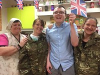 Celebrations at Anbridge House Care Home mark VE Day