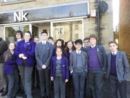 Mossley Hollins School band