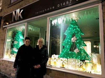 Nicola and Karen at NK Hair Studio