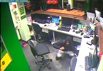 Robbery Oldham