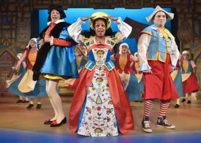 Shorelle Hepkin as Alice in Dick Whittington, 2017