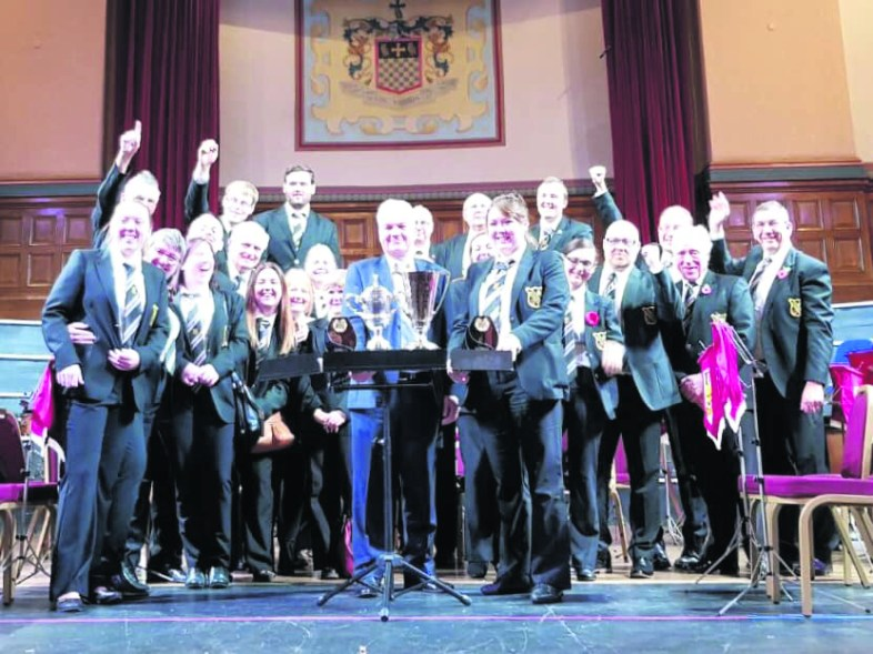 Uppermill Band winners