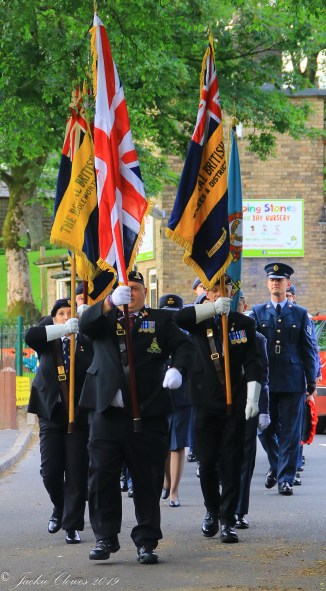 Uppermill D-Day 75 Remembrance Service 5 June 2019 -3