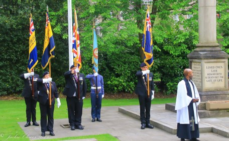 Uppermill D-Day 75 Remembrance Service 5 June 2019 -9