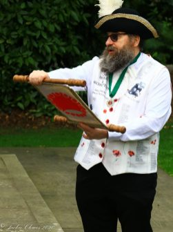 Marcus Emms, Shaw and Crompton Town Crier