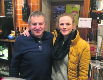 Vinnie and Maxine Peake