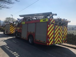Wall Hill Road-Dobcross Fire (1)