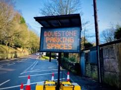 electronic car parki signage Dovestone