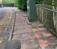 Locals advised to be vigilant after flagstone thefts in Saddleworth