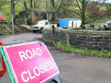 highmoor road closed 2