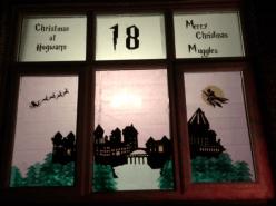 p36 uppermill advent Hogwarts