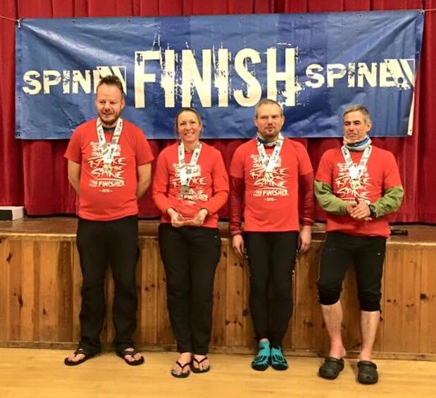 p6 OMRT spine race