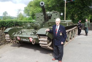 veteran john Whyman at Pennine event