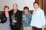 Left to right: SBCO Treasurer Anne Everett, Long Office Manager Jackie Malden, SBCO President Maggie de Block and Long CEO Rosie Koberline