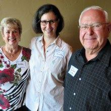 From left are Dottie Shaffer, Susan Schwartz and John Shaffer.