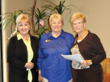 Janice Westra, Janice Haching and Jo Ann Evans