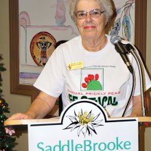 Jean Groen spoke about the cooking and healing benefits from using cacti.