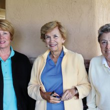 Linda Rouse, Marla Butcher and Holly Riviere