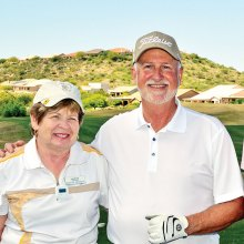 Sharon Dicosola and Dave Thompson