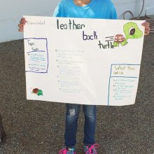 Natalye Pinedo attends Science Camp