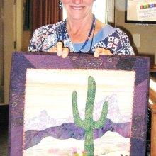 Winner Wendy Butler Berns' Desert Dreams