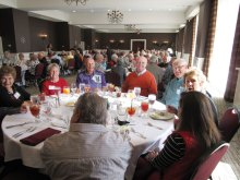 Portion of 110 guests at Heroes Luncheon