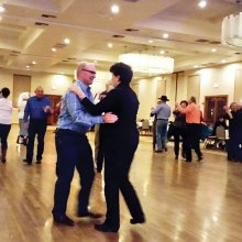 Grab your partner and some friends for fun at Western Dance class.