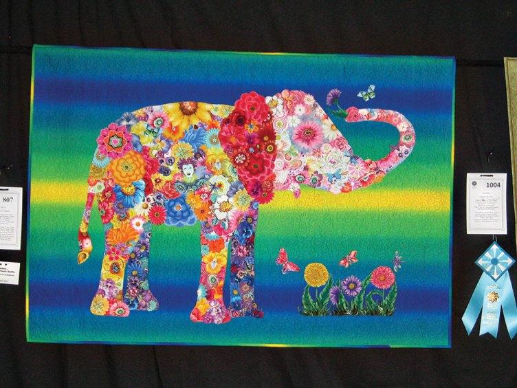 Nandi, Baby Elephant by Pat Morris