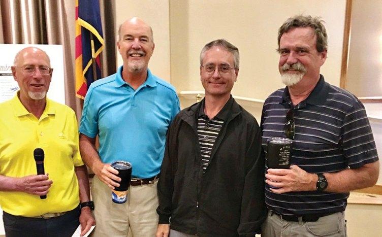Left to right: David Cohen, Dan Linegar, Mike Jahaske, Bill Grow