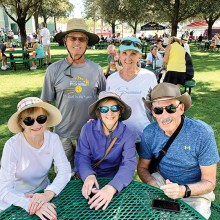 Glen and Mary Jo George, Bonnie Johnson, and JB and Linda Bailey at Nationals.