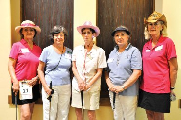 Team 11 – Kerstin Seifert SBR, Joyce Clark QC, Margie Jacox SBR, Freda Hyles QC and Linda Bowman SBR. undefined