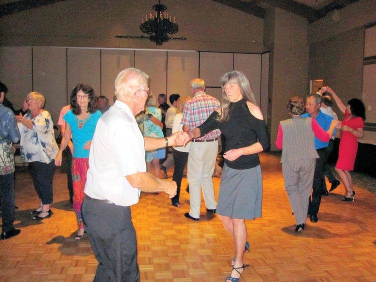 Latin Rhythm Dance Club members at play