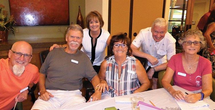 Malibu Team: Clarke Latimer, Frank Sherfy, Janice Neal, Linda Sherfy, Mike Neal and Gail Latimer
