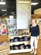Tuesday afternoons find Kerstin Seifert at the Western National Parks Association where she assists at day-long events, creates and maintains merchandise displays and introduces visitors to the mission of providing funding for 71 smaller national parks and monuments in the west.