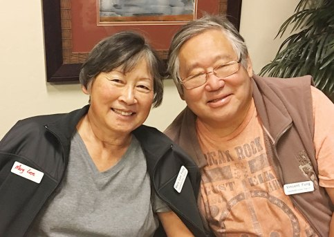 Mary Lee and Vincent Fung